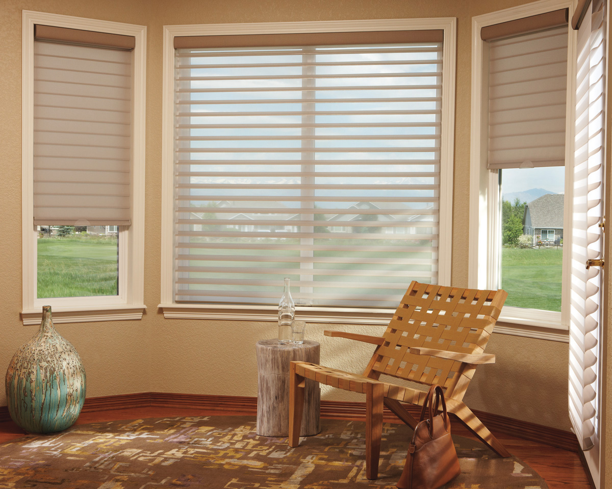 in designer mt blinds shades new coverings hunter murray douglass douglas banded from window billings floor