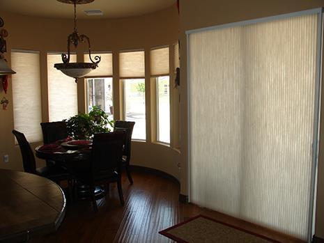 Wonderful Cellular Blinds For Sliding Glass Doors 1 L Inside Decorating Ideas