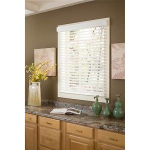 2 Faux Wood Blinds (11)