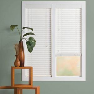 2 Faux Wood Blinds (15)
