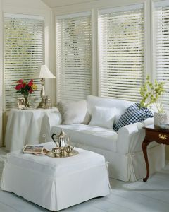 2 Faux Wood Blinds (1)