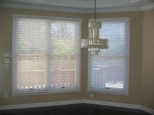 2 Faux Wood Blinds (3)