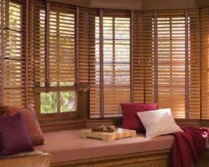 2 Faux Wood Blinds (7)