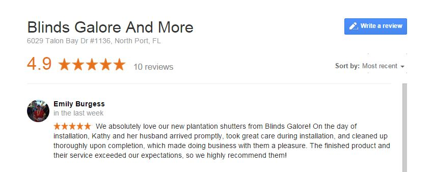 Google Review #10
