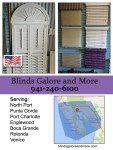 Blinds Galore and More Service Area